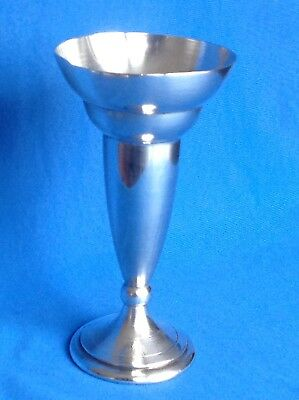 Vintage Or Antique Silver Plated Vase