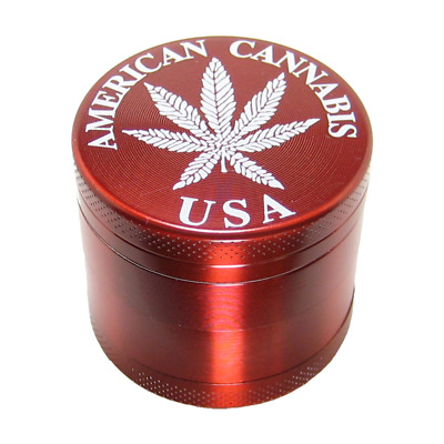 Mini 4 Layer Red Herb & Tobacco Grinder