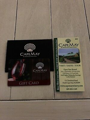Cape May Winery & Vineyard $40 Gift Card