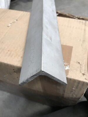 stainless steel grade 316L ANGLE 60 X 60 X 6 X 300mm Long