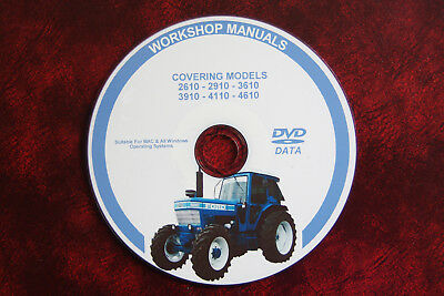 Ford 2610 2910 3610 3910 4110 4610 Tractor Workshop Service Repair Manual