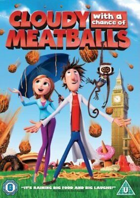 Cloudy With A Chance Of Meatballs (DVD, 2010) FREE SHIPPING