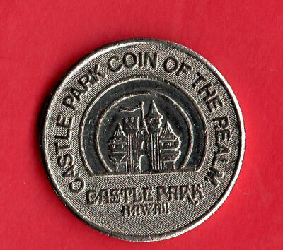 "Hawaii token, Castle Park ""coin of the realm."" HI, likely amusement token."