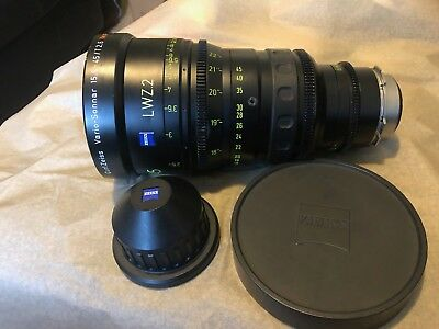 Zeiss Cinema Zoom Lens T2.6 15.5mm-45mm PL Mount