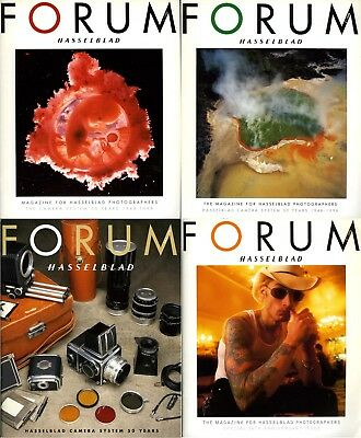 50th Anniversary issues HASSELBLAD FORUM Magazine English 1998 collector's items
