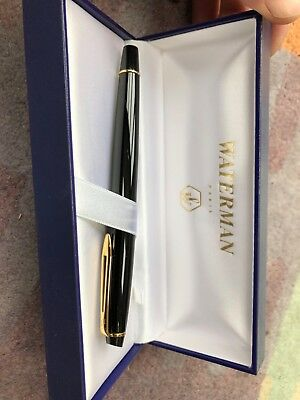 Waterman fountain pen ink, vg condition, barely used, around 15-20 yrs old