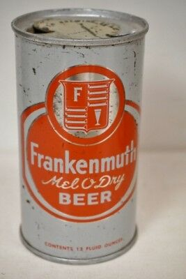 Frankenmuth Melo Dry Flat Top Beer Can   Tampa Florida