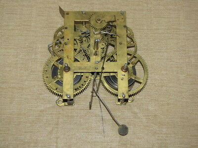 Antique E.N. Welch Mantle Wall Clock Movement
