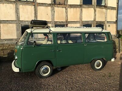 VW T2 campervan 1974 (crossover early/late bay)
