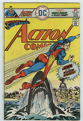 Dc Action Comics #456 *1976* Superman * Green Lantern * Black Canary *