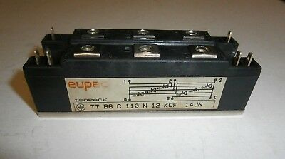 TTB6C110N12KOF three-phase controlled rectifier bridge EUPEC