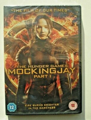 The Hunger Games Mockingjay - Part 1 (Dvd) Brand New And Sealed