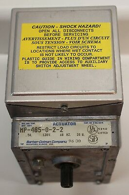 MP-485-0-2-2  INVENSYS OIL SUBMERGED ACTUATOR 120v 28 W USED