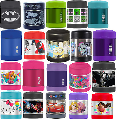 Thermos Funtainer 10-Ounce Food Jars, Purple / Pink / Green / Frozen & 42 Colors