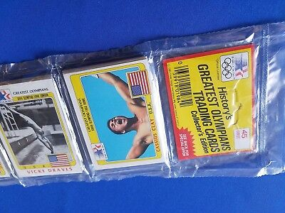 1983 Topps Olympics Sealed Rack Pack  Cassius Clay Muhammad Ali On Top