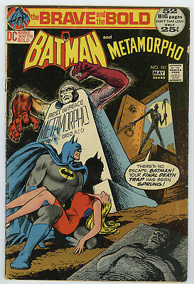 Dc Brave And The Bold #101 * Batman & Metamorpho * 52 Pages * 1972 *