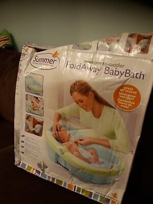 Summer Fold Away Baby Bath Newborn To Toddler