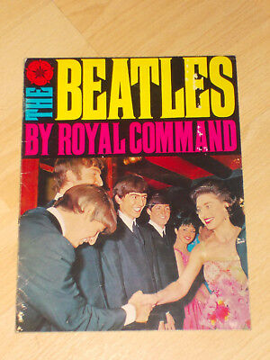 the beatles by royal command 1963  2'6