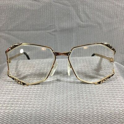 a61be8383289 CAZAL 1980 s Model 245 Rare Oversized Heptagon Eyeglasses Glasses Frame Col .302