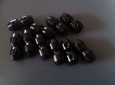 GO KART GOKART  10 X CABLE CLAMPS. Black. Top Quality Items . FREE POST