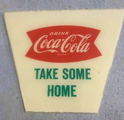 Take Some Home Panel For 1960's Coca Cola Lantern Light Up Signs