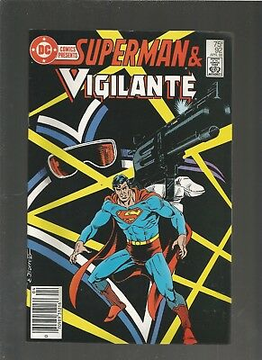 DC Comics Presents #92 VF. DC comics THE VIGILANTE COMBINE SHIP