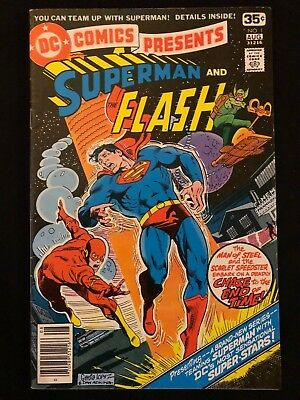 Dc Comics Presents Superman And The Flash #1 8.5 Vf+ (1978)