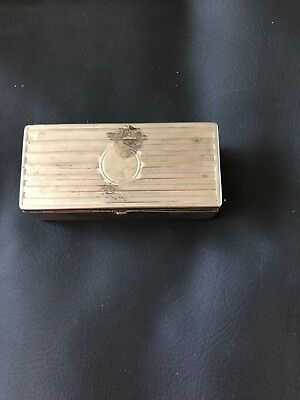 Vintage Auto Strop Safety Razor and Metal box