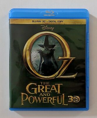 Oz the Great and Powerful (3D Blu-ray Disc) No Digital Code