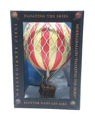 Authentic Models AP160R Floating the Skies Hot Air Balloon - New Free Shipping!