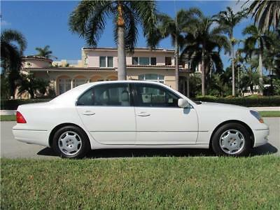 2002 Lexus LS 1OWN LOW MILES NON SMOKER CLEAN CARFAX MUST SELL! 2002 LEXUS LS 430 1OWN LOW 37K MILES NON SMOKER CLEAN CARFAX 400 PRICED TO SELL!