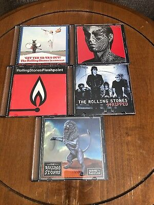 The Rolling Stones cd lot