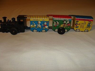 Vintage  Disney Casey Jr. The Disneyland Express Train With Box, Works,by Marx