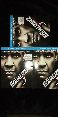 The Equalizer 2 (BLU-RAY+ DVD + Digital HD)   BRAND NEW + FREE  SHIPPING