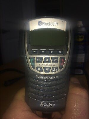 Cobra Marine Bluetooth MR F300 BT never used out of box with cords