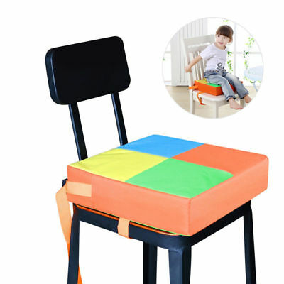 NUOLUX Baby Kids Child Dining Chair Booster Cushion Seats Highchair Mat Orange