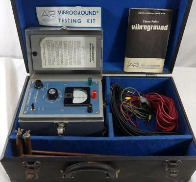 Associated Research 18503 Vibraground Earth Ground Resistance Tester Model 255