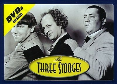 The Three Stooges: Lunch Box (2009, 2-Disc DVD Set) W/Laurel & Hardy