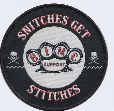 SUPPORT LOCAL 81 patch  RED&WHITE FOREVER t shirt/hat Angels/HELLS 1%er