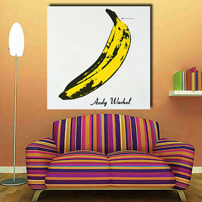 Vivid Banana kraft paper bar retro poster decorative painting wall sticker NTWG