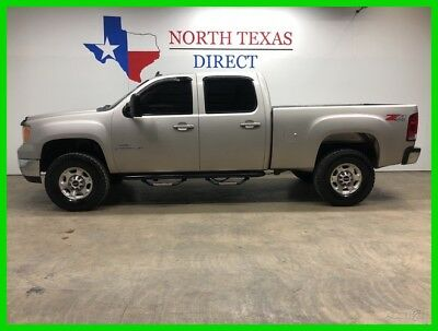 2009 GMC Sierra 2500 2013 SLT 4x4 Heated Leather Diesel Allison GPS Nav 2009 2013 SLT 4x4 Heated Leather Diesel Allison GPS Nav Used Turbo 6.6L V8 32V