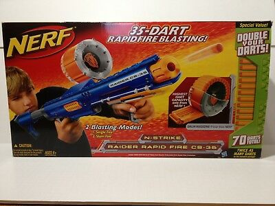 NERF N-Strike Raider Rapid Fire CS-36 USED