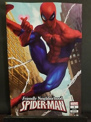 Friendly Neighborhood Spider Man #1   Artgerm Variant    Marvel Comics   Nm