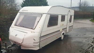 1994 sprite major 5 berth caravan