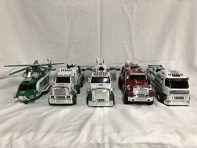 Hess Toy Trucks Lot Of 5 - 2012, 2013, 2014, 2015, 2016