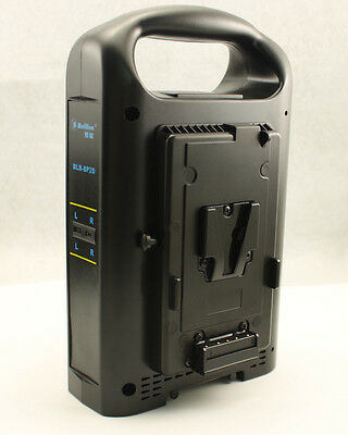 2 Channel Sony V-mount Dual V Lock Charger For 130WH 190WH 230WH Li-ion battery