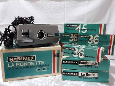 Vintage Hanimex Slide Projector 1960s...perfect condition!