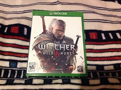The Witcher III 3: Wild Hunt USED Preowned (Microsoft Xbox One, 2015)