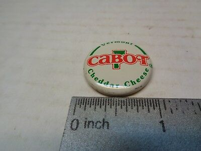 Cabot Cheddar Cheese Vemont Pinback Button
