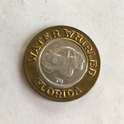 WATER WHIRLED FLORIDA CARWASH $1 TOKEN BI-METAL No Refunds/Cash Value CH2